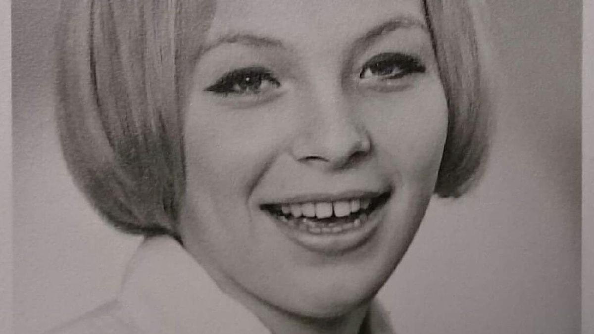 Wenche Willumsen vid nitton års ålder. Fotot togs på fotoskolan på Norrbackainstitutet, där Wenche gick gymnasiet.