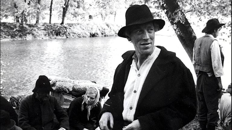Karl-Oskar Nilsson (Max von Sydow) i Utvandrarna