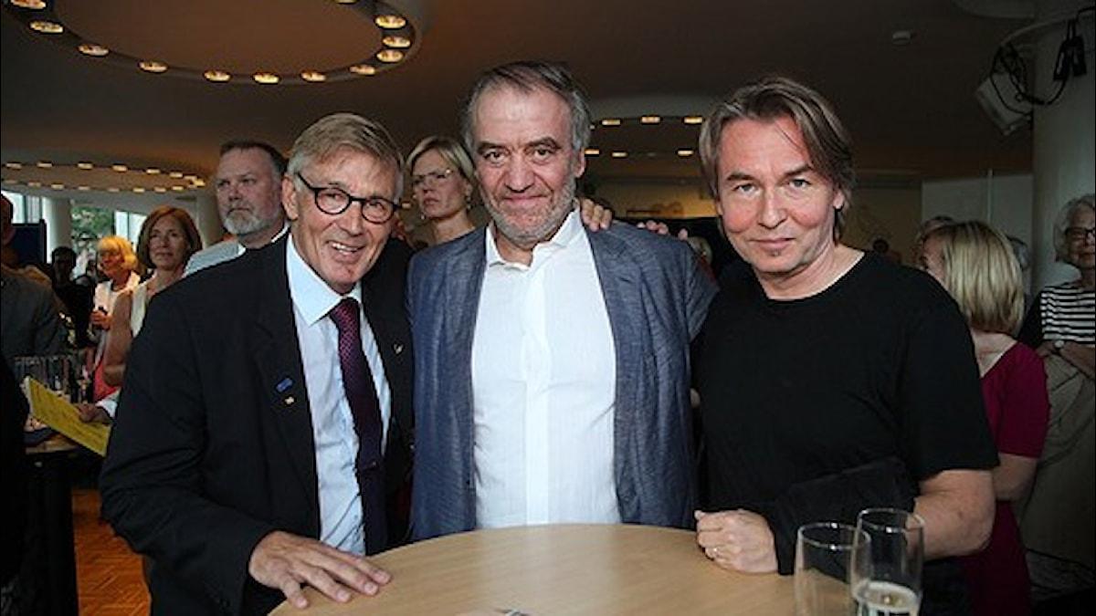 Michael Tydén, Valery Gergiev och Esa-Pekka Salonen