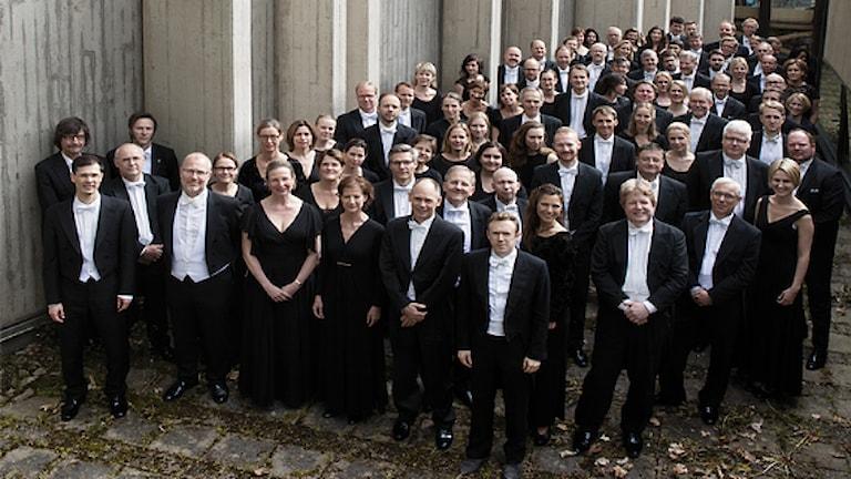 Sveriges Radios Symfoniorkester. Foto: Julian Hargreaves.