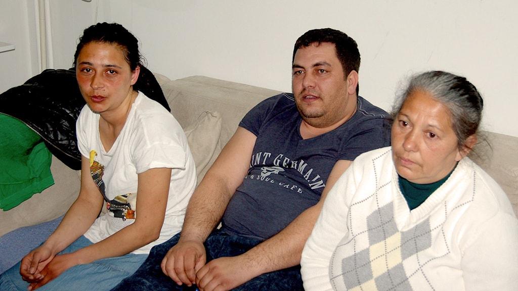 Marinela Botonog, Valentin Lupu, Maria Serban. Foto: Mita Coloka/Privat.