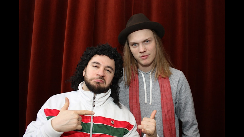 "Lilla LAF och Jakob ""Jackan"" Karlberg."