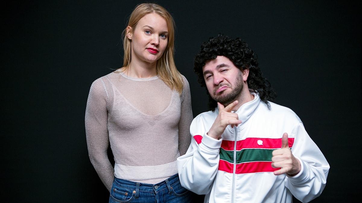 Lilla och Emma Frans