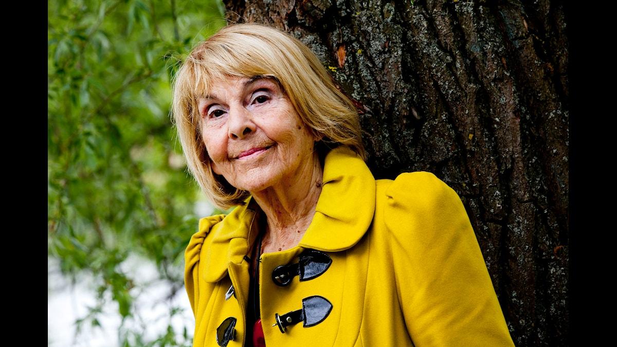 Margareta Strömstedt. Foto: Stina Gullander/SR.