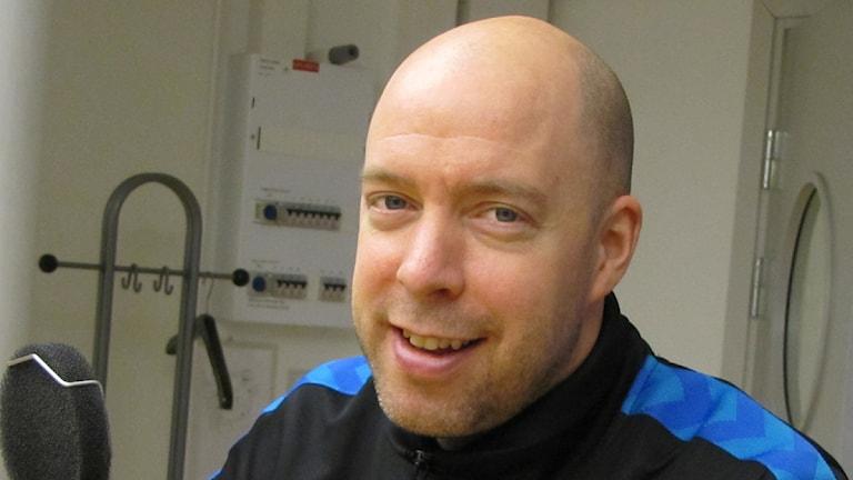 Handbollsprofilen och juniorlandslagstränaren Niklas Harris