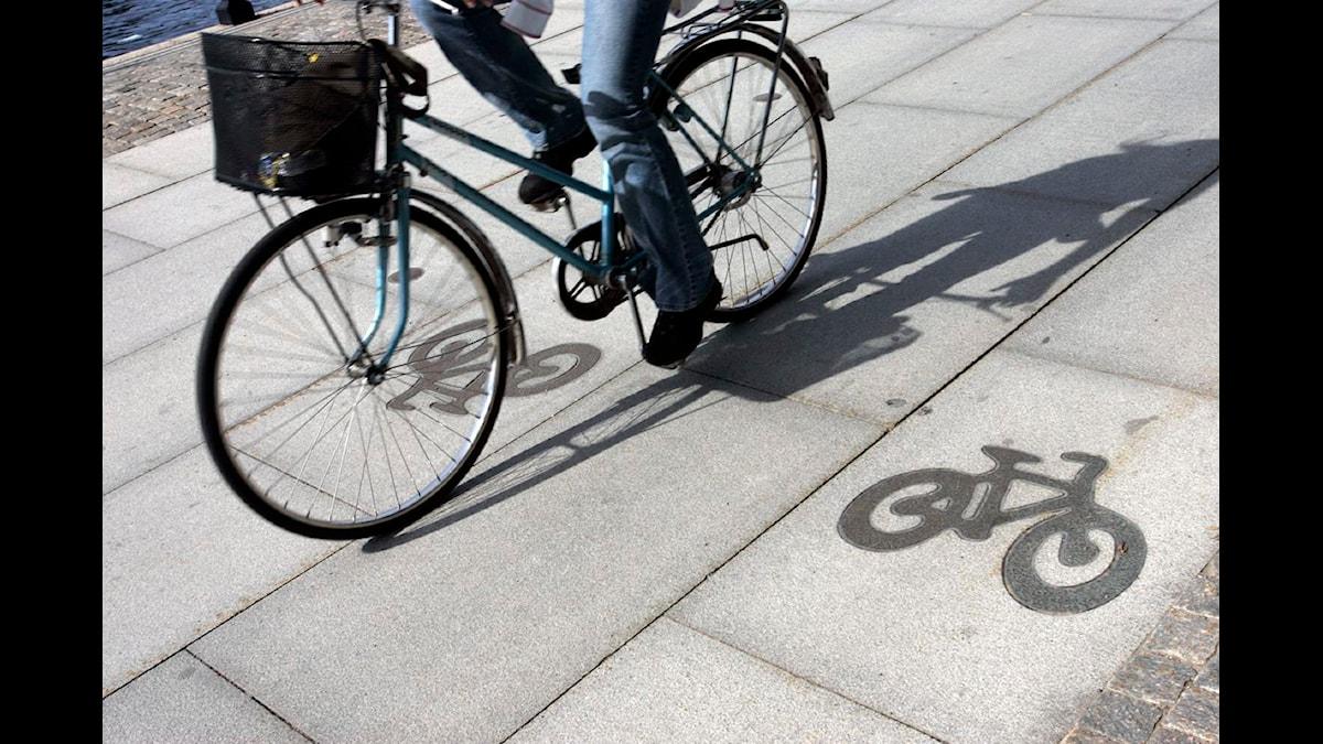 Det blev aldrig någon cykelbana på Öresundsbron