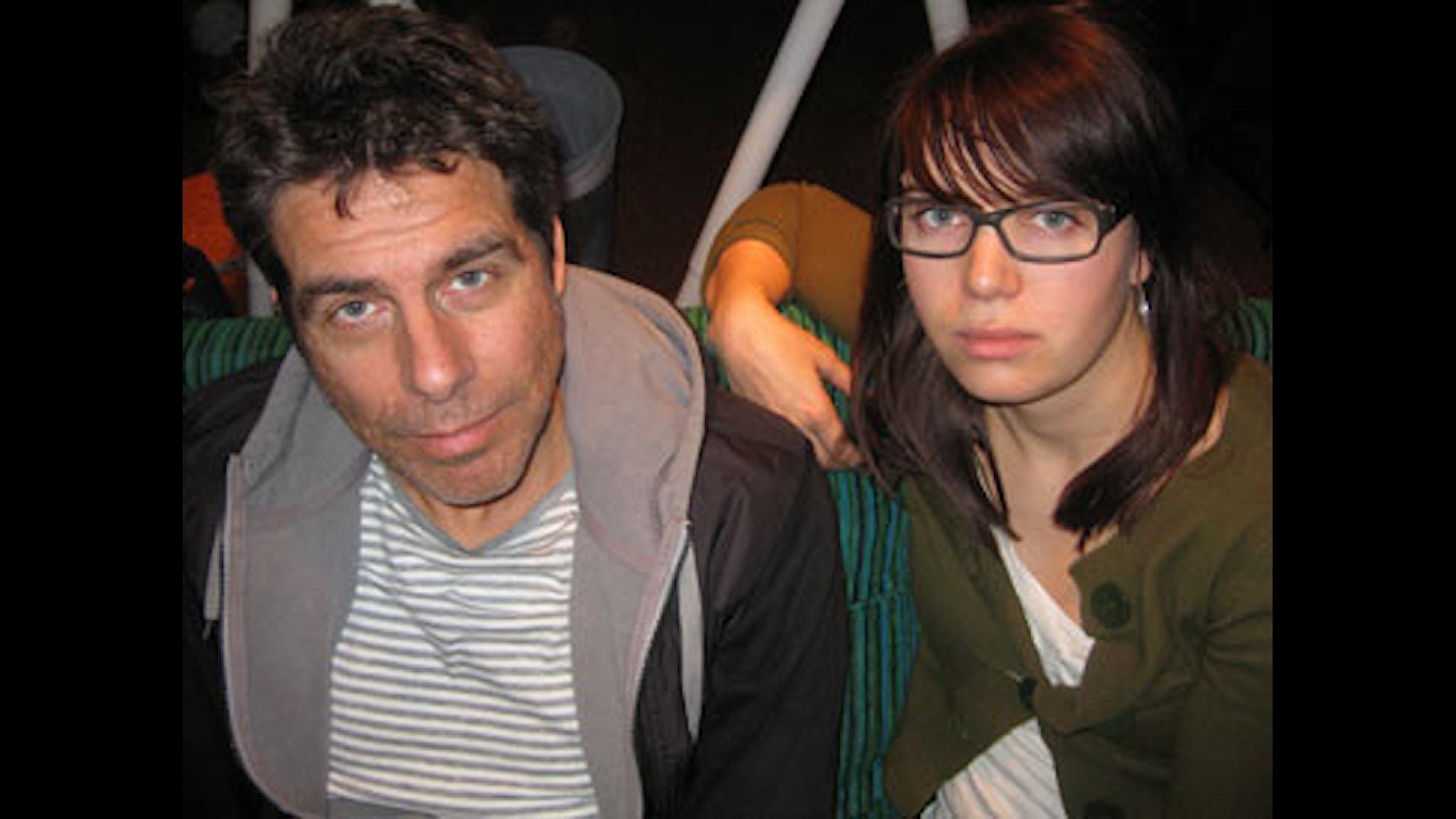 Mikael Tornving och Matilda