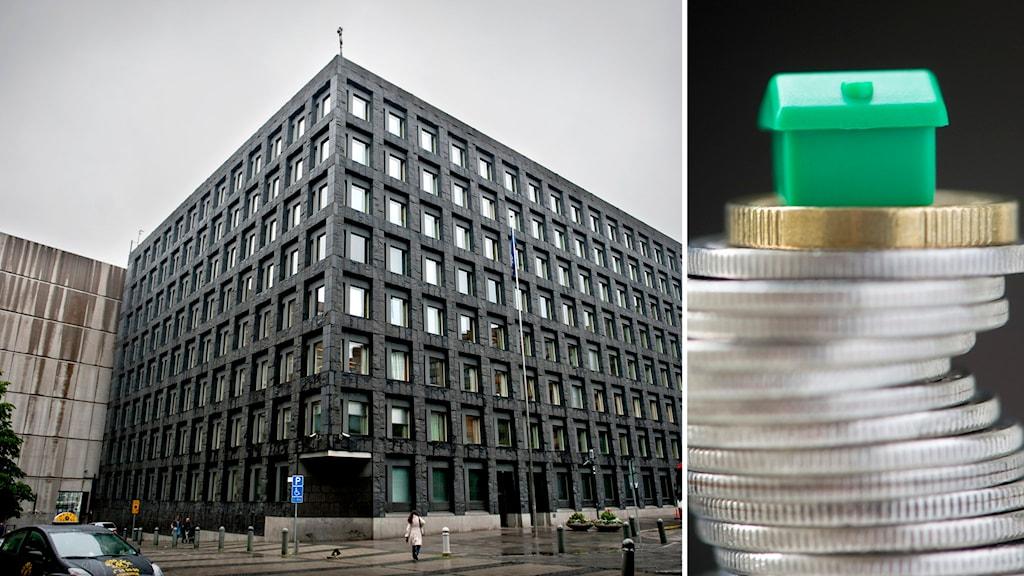 Bankeya Navendiya Giştî. Wêne:  Erik Mårtensson/Fredrik Sandberg/TT
