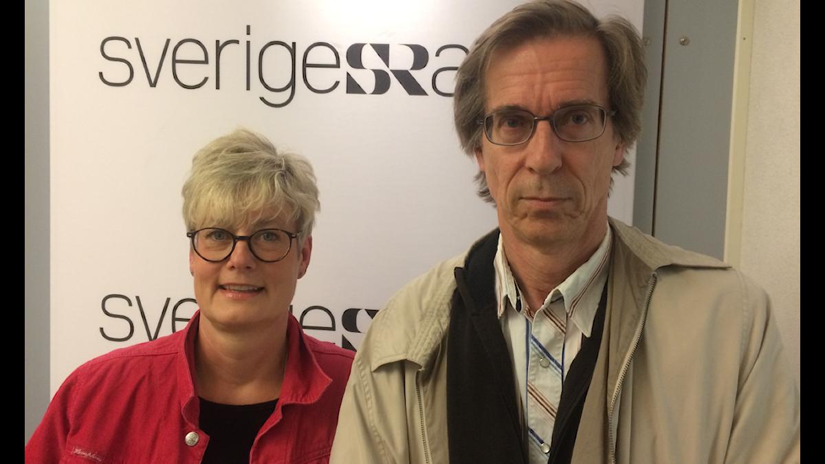 , Hyresgästföreningen  och Hans Lind, professor i fastighetsekonomi. Foto: Håkan Widman/Sveriges Radio.
