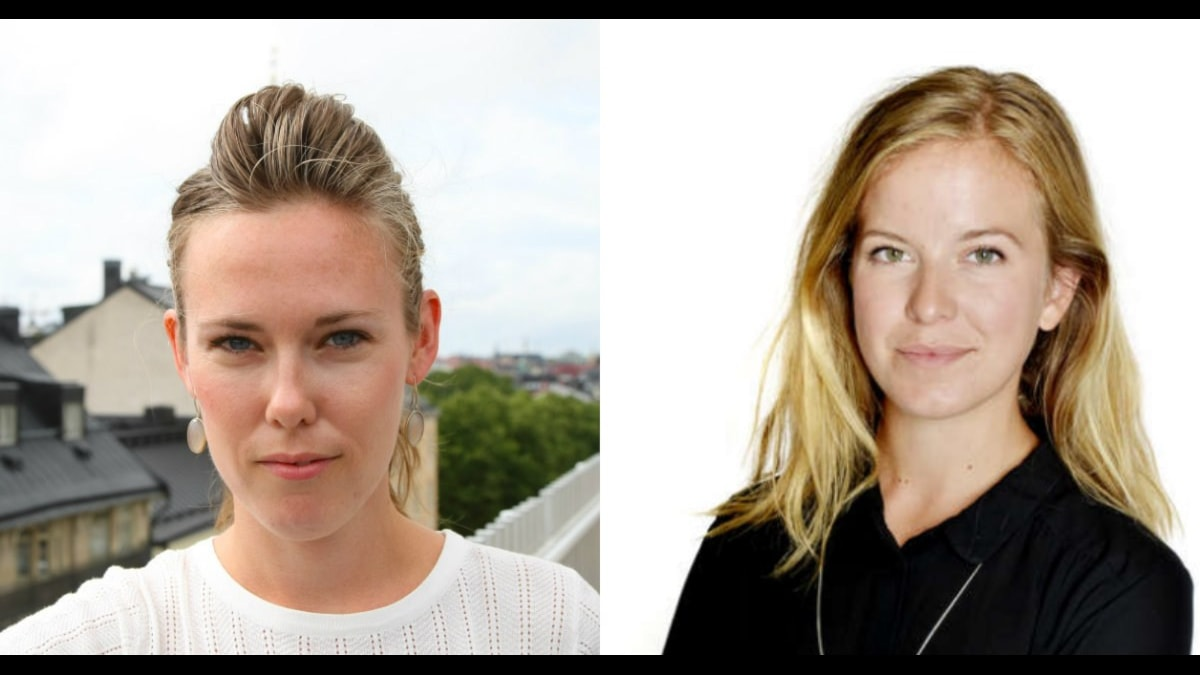 Susanne Spector, arbetsmarknadsekonom Svenskt Näringsliv och Agneta Berge, nationalekonom.