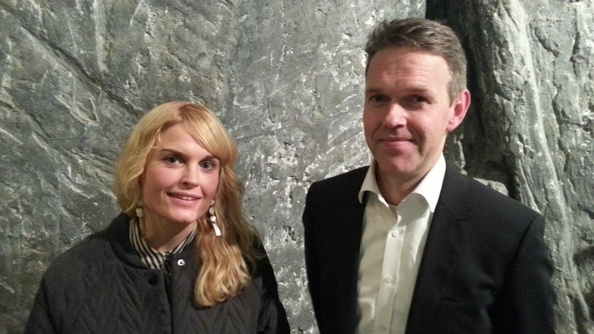 Ann Öberg och Torbjörn Isaksson.