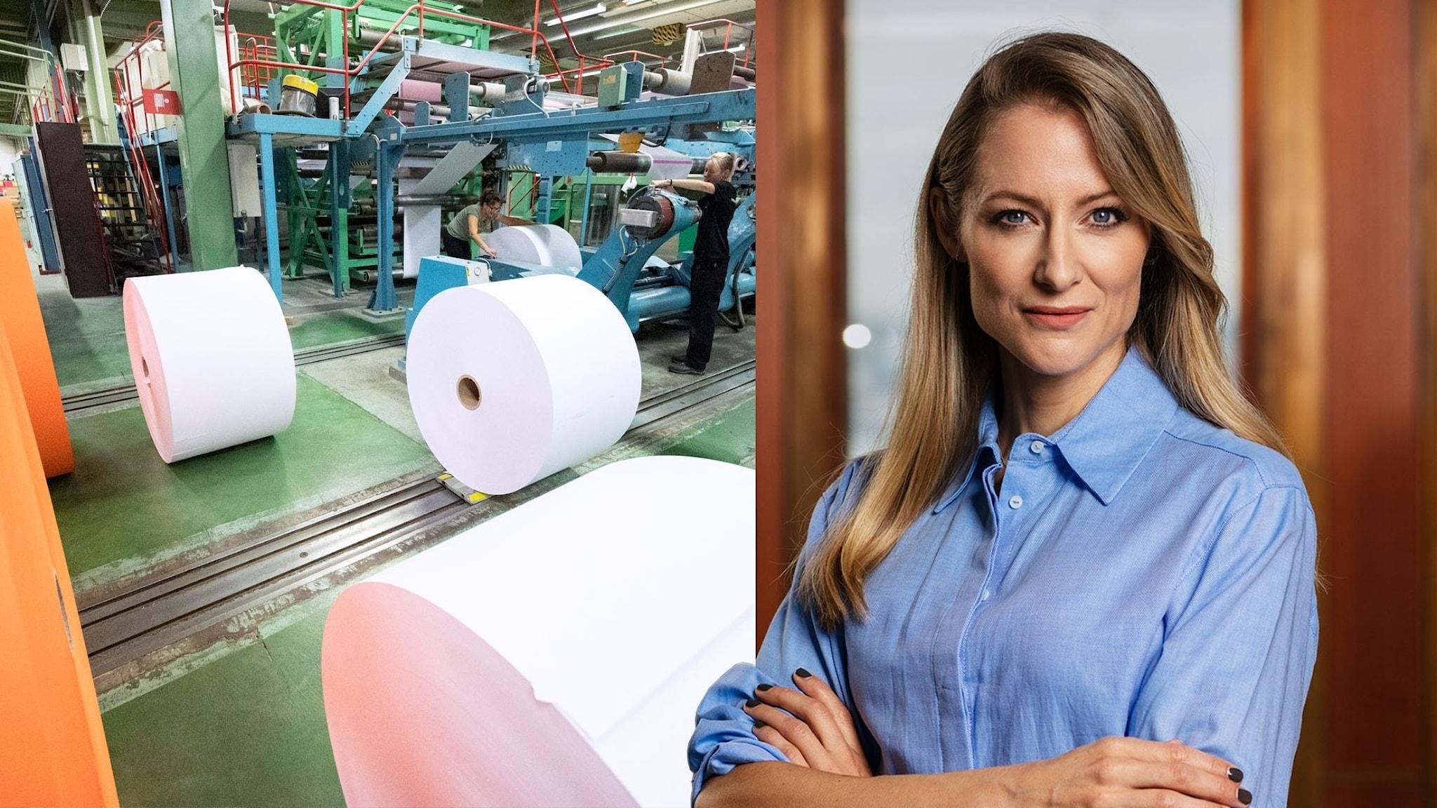 En pappersindustri i förändring