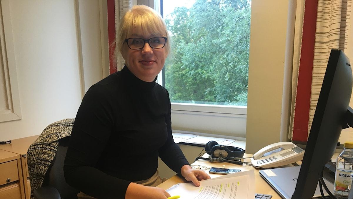 Programledare Anna-Karin Sivberg