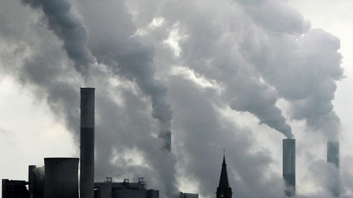 utsläpp