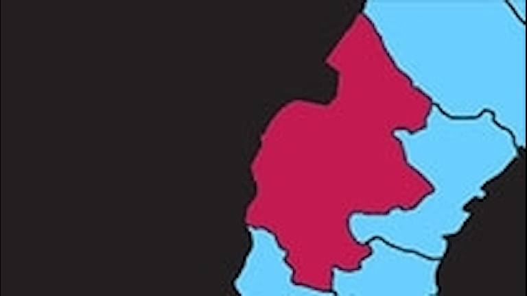 Karta P4 Jämtland