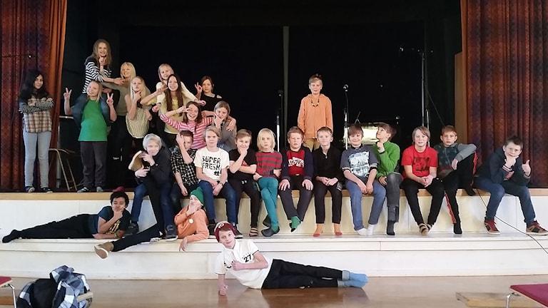 Östbergsskolan 5B