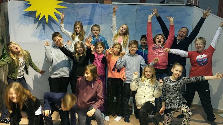 Grevåkerskolan klass 5A, Hammerdal