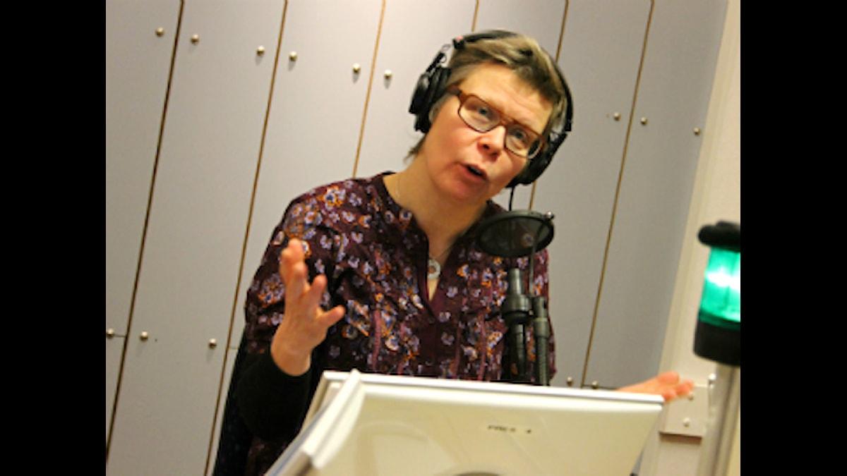 Pia Sjögren. Foto: Sabina Kuutti/ Sveriges Radio