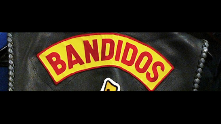 Bandidos logotyp. Foto: TT/AP Photo/Adrian Wyld