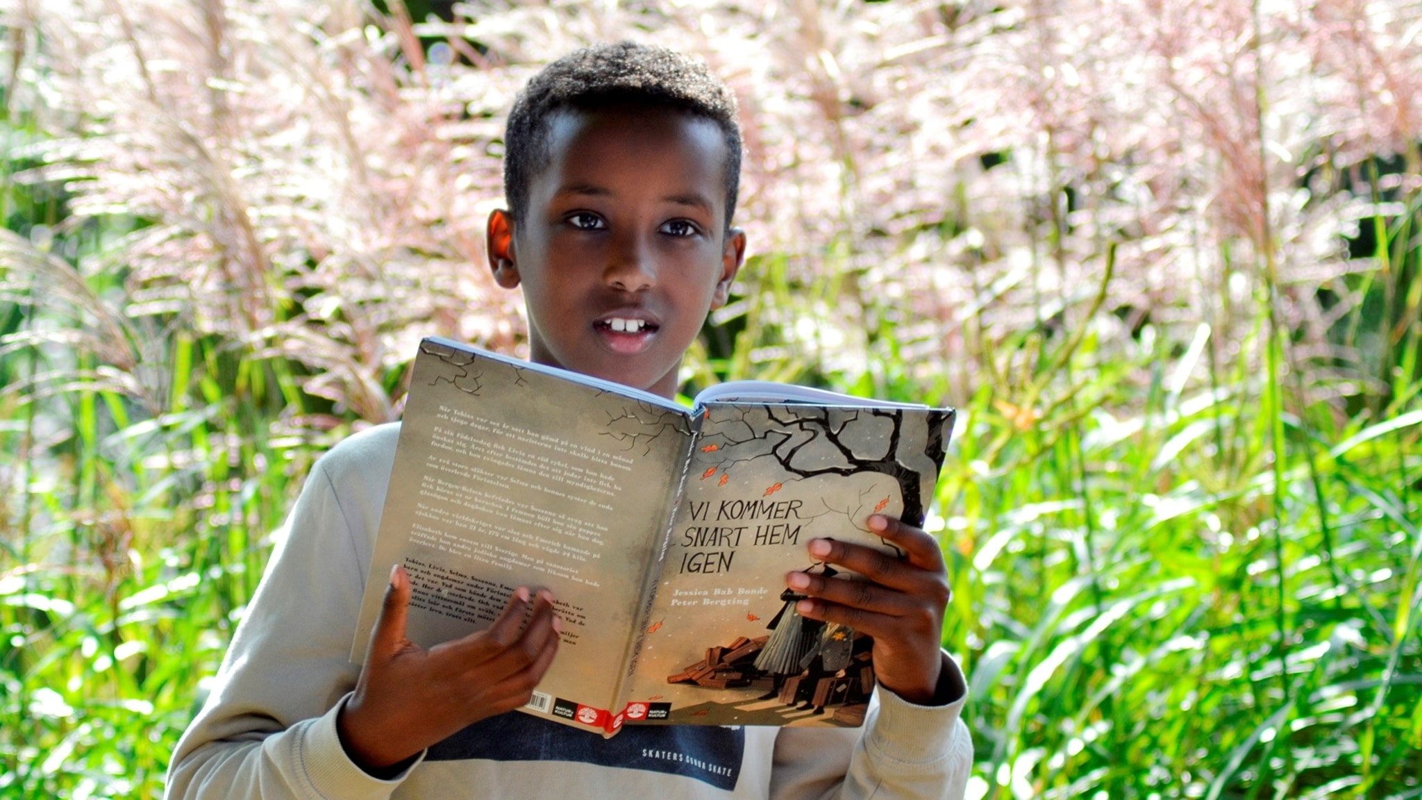 Barnradions bokpris: Shuaib Aden läser Vi kommer snart hem igen