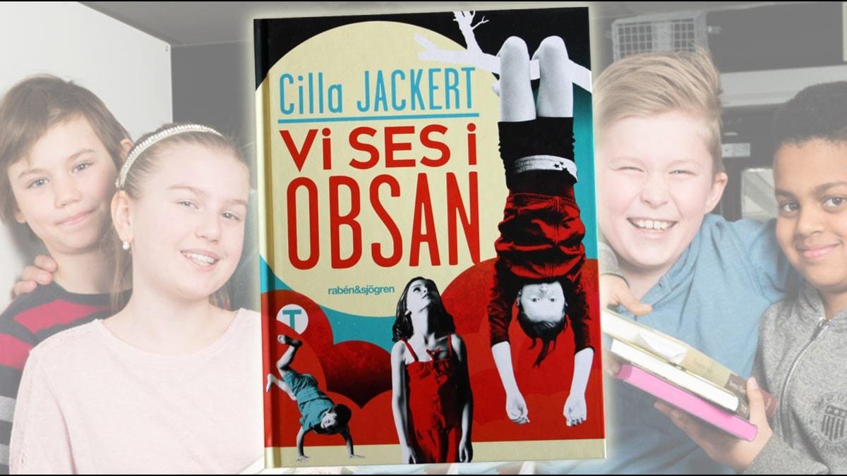 Bok 3: Vi ses i Obsan av Cilla Jackert. Nominerad till Barnens Romanpris 2015.