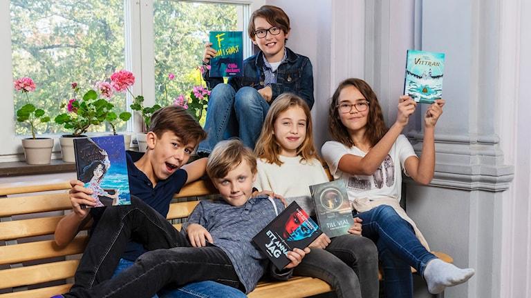 Bokprogram där en barnjury utser årets bästa bok för 9-12-åringar.