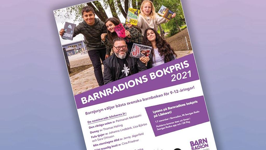 Bild på affisch för Barnradions bokpris