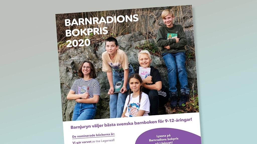 Bild på affisch för Barnradions bokpris.