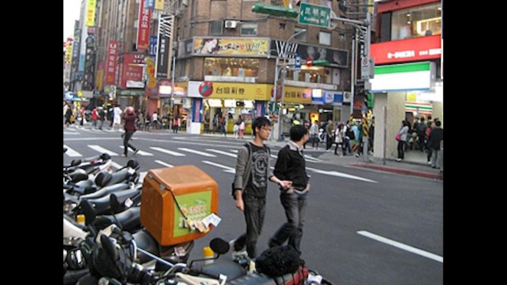 Taipei i Taiwan. Foto: Göran Sommardal/Sveriges Radio