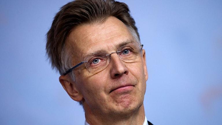Anders Danielsson, gd på Migrationsverket. Foto: Jonas Ekströmer/TT