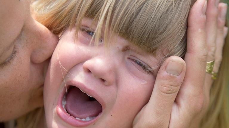 Gråtande barn. Foto: Maja Suslin