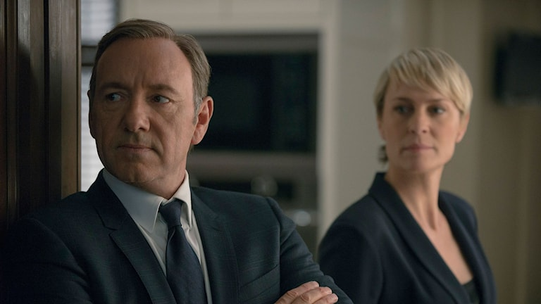 Kevin Spacey och Robin Wright i House of Cards Foto: Nathaliel Bell för Netflix