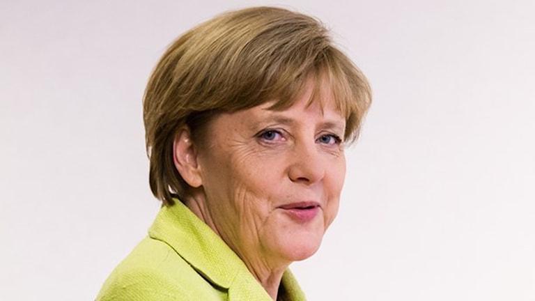 Angela Merkel. Foto: TT Nyhetsbyrån