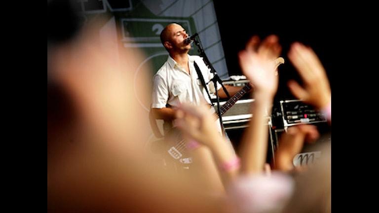 Millencolin på scen. Foto: Niklas Larsson/Scanpix