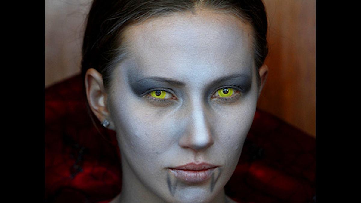 Kvinnlig vampyr Foto: Marco Ugarte/Scanpix
