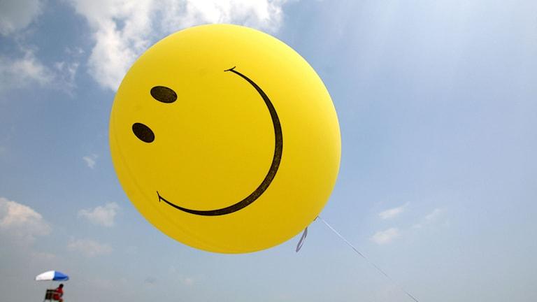 Glad ballong. Foto: Michael Dwyer/TT