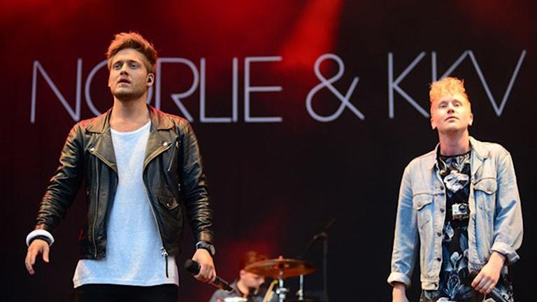 Norlie & KKV. Foto Mikael Lindberg/Sveriges Radio