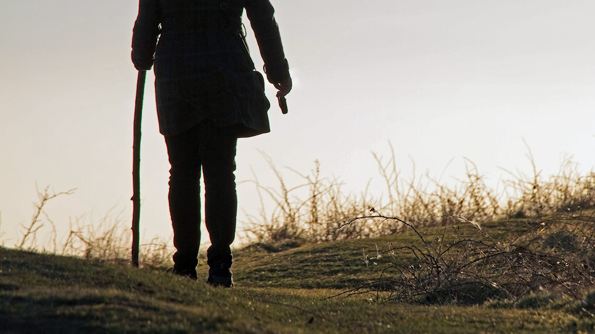 kvoinna på väg. Foto:  Andrew Menage/Flickr
