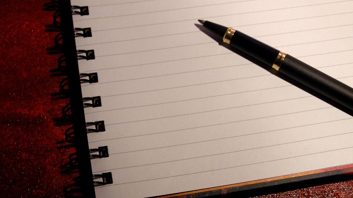 Brev och penna
