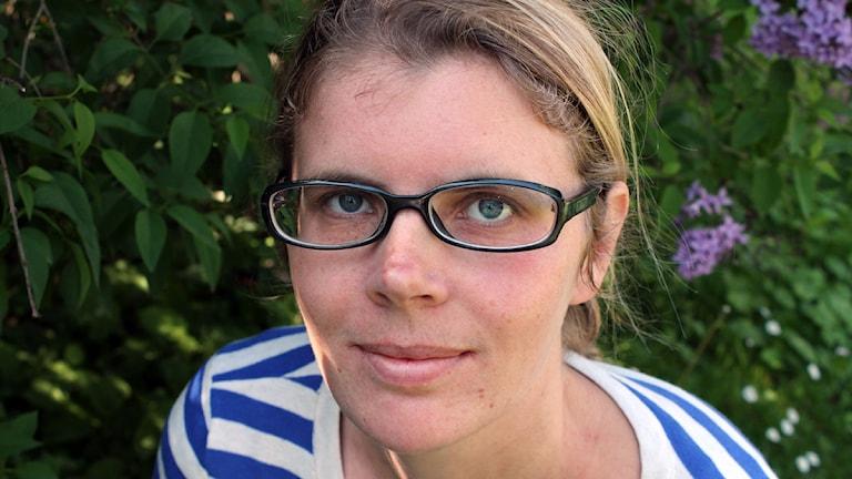 Linnea Mattisson, nyhetsreporter. Foto: Johanna Darnéus/Sveriges Radio