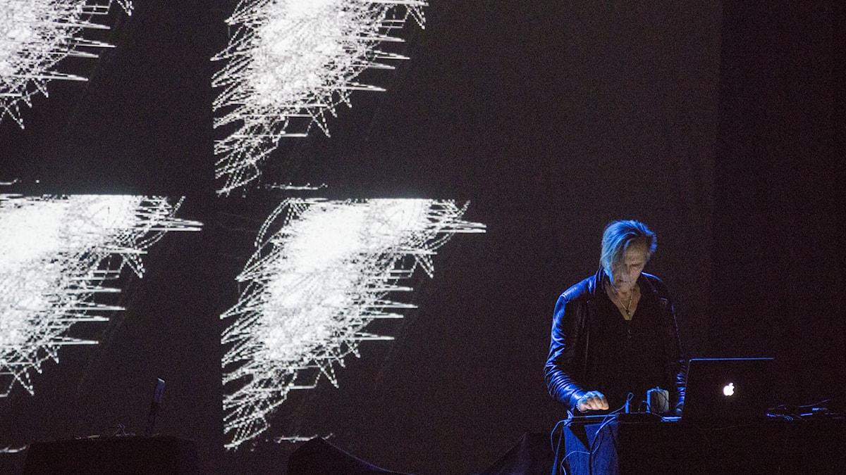 P2 Art's Birthday Party 2015 - Åke Parmerud. Foto: Mattias Ahlm/Sveriges Radio.