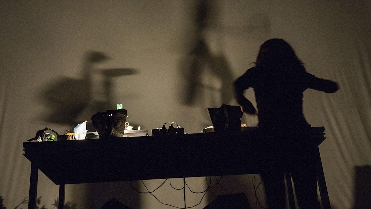 P2 Art's Birthday Party 2015 - Diane Landry. Foto: Mattias Ahlm/Sveriges Radio.