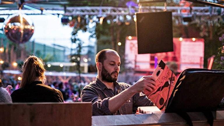 DJ Gavin Maycroft. Foto: Izabella Englund
