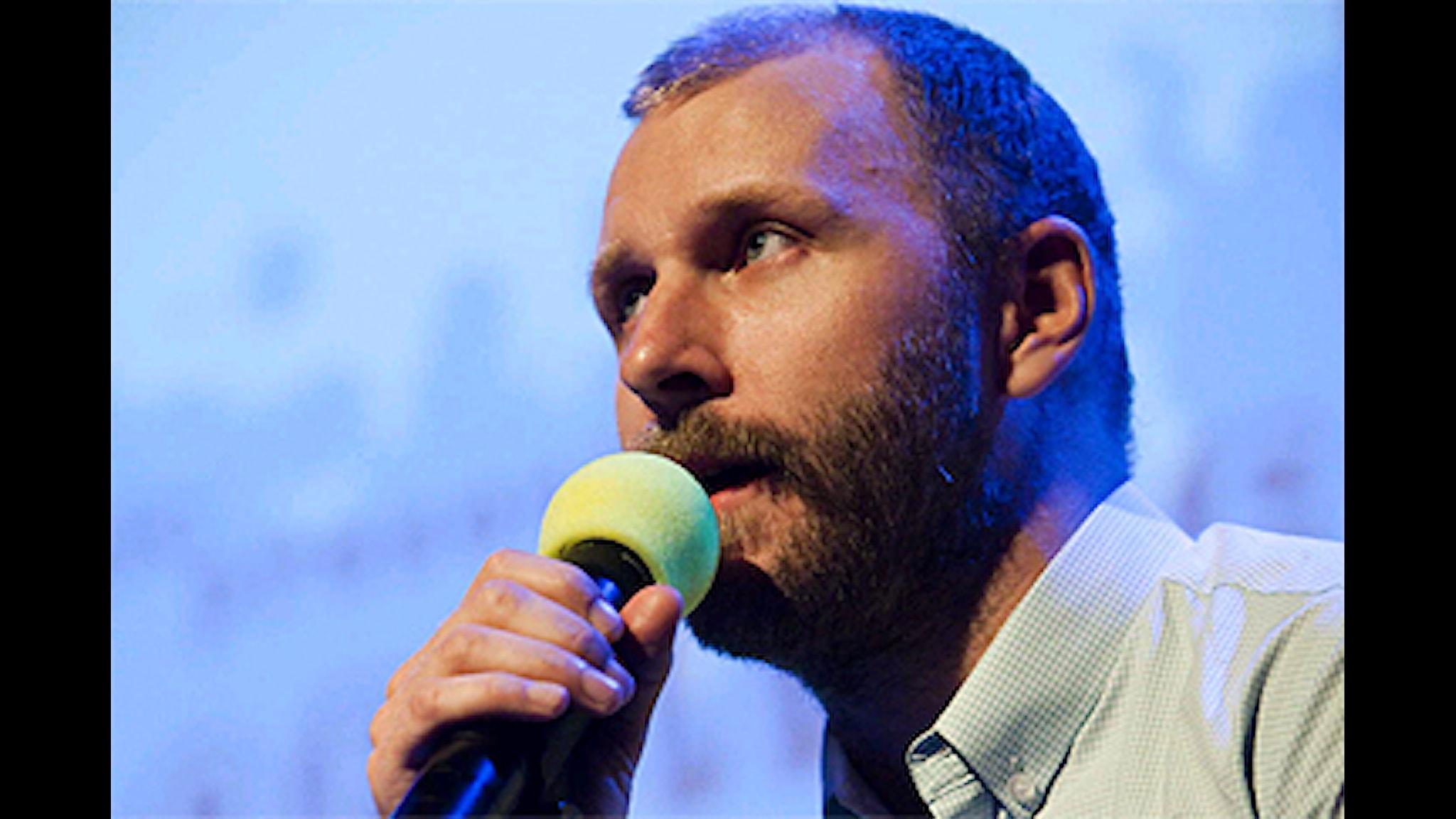 Kalle Lind. Foto: Johan Ljungström/SR