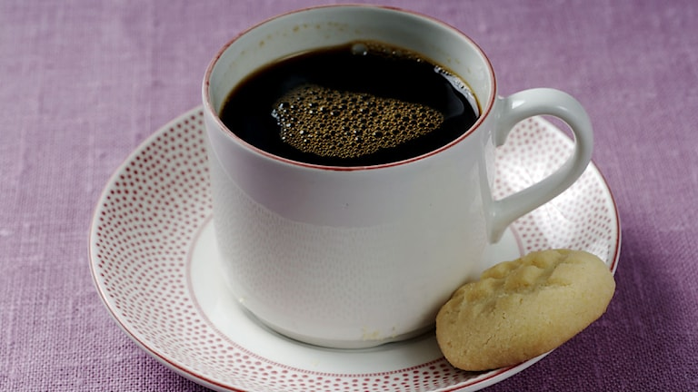 På en kaffekopp och bulle kanske? Foto: Jurek Holzer / SvD / SCANPIX