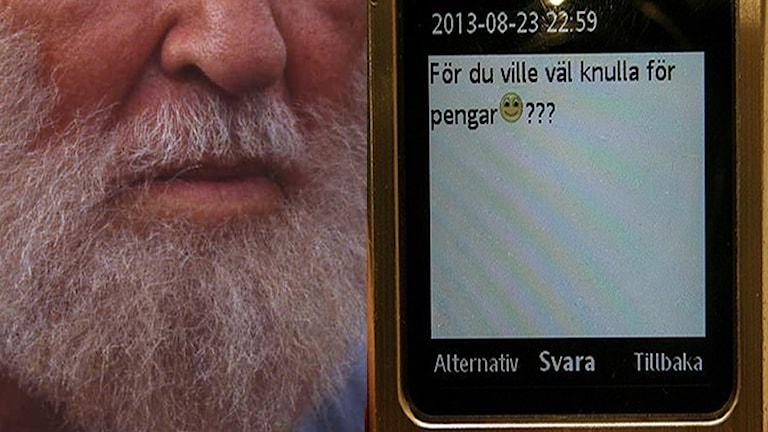 Att ta hand om sitt skägg och att locka barn till att ha sex kan inte ha samma namn. Foto: SVT bild och Sveriges Radio