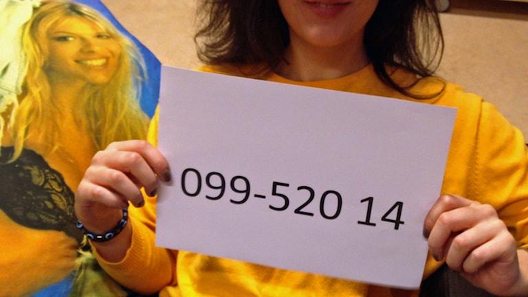 Vill du bestämma alla ämnen i ett av Tankesmedjans program? Ring 099-52014 och var med i lotteriet. Kostar 50 kronor. Foto: Tobias Wallin/SR