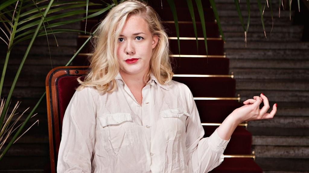 Cecilia Uddén förstår inte hur hon ska klara sig utan Moa. Foto: Julia Lindeman