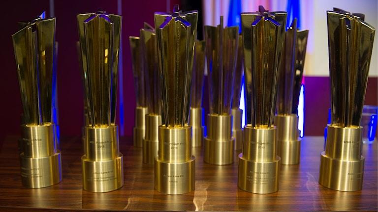 En massa priser på ett bord. Foto: ITU Pictures/Flickr/CC BY 2.0