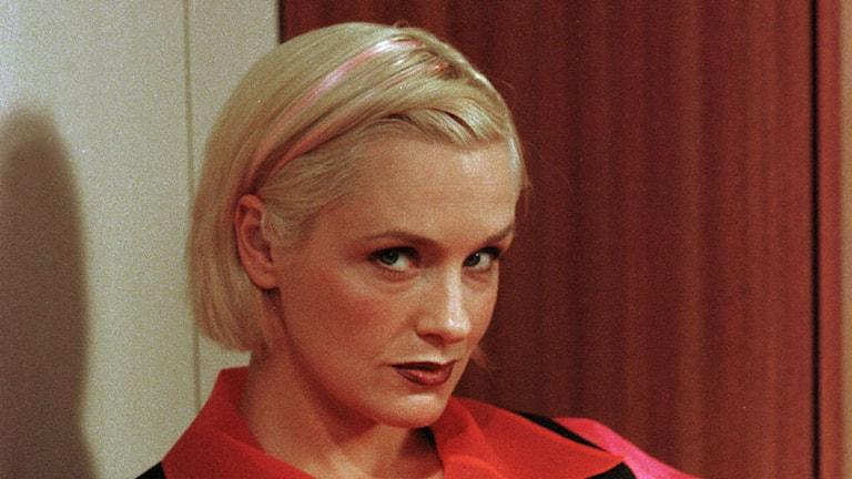 Regina Lund som Mona i Rederiet på 90-talet
